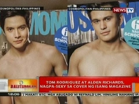 BT: Tom Rodriguez at Alden Richards, nagpa-sexy sa cover ng isang magazine