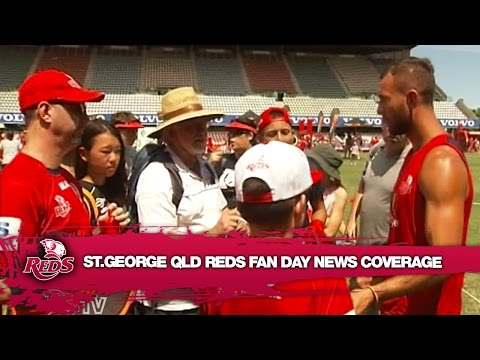 St. George Queensland Reds Fan Day News Coverage