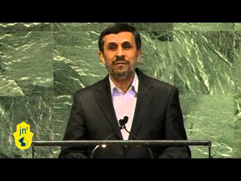 Iran President Ahmadinejad's Rule of Law UN Speech: Israel Ambassador Ron Prosor Walks Out