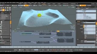 Modo 902 - Curve Constraint Effector node