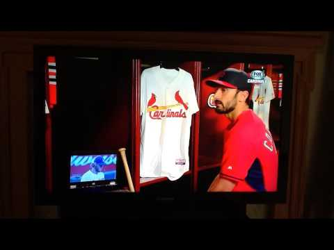 STL Cardinals Pre-Game Show Matt Carpenter Analyzes At-Bat vs Kershaw 2014 NLDS Gm 1