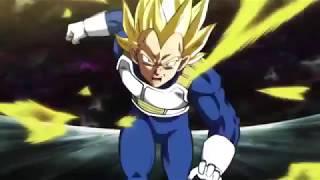 Vegeta Vs Hit In The Tournament Of Power(Hit Solo Vegeta)