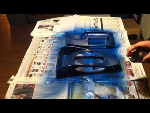 how to paint your car interior