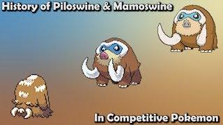 How GOOD were PIloswine & Mamoswine ACTUALLY - History of Competitive Piloswine & Mamoswine
