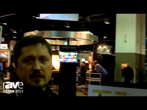 CEDIA 2014: Seymour Screen Excellence Talks about New Screen Material