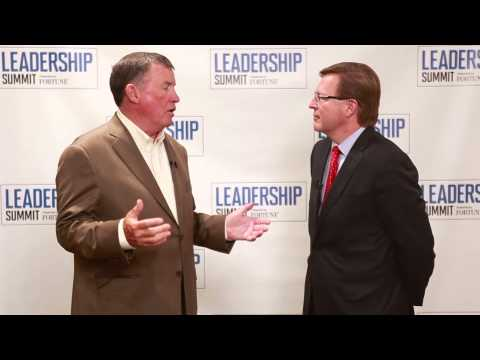 Great Game of Business Author Jack Stack Interview with Verne Harnish - Fortune Leadership Summit