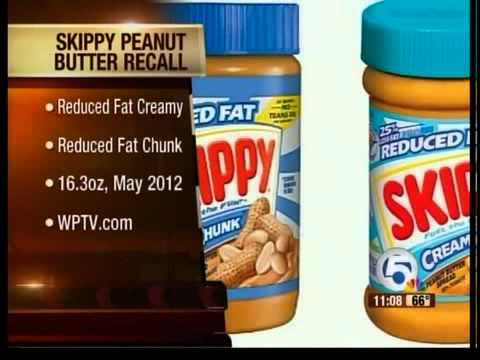 Skippy peanut butter recall