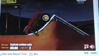 Monster truck nitro crash!!!