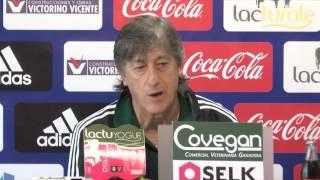 """Enrique Martín Monreal: """"Vamos a Elche a competir y a ganar los tres puntos"""""""