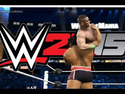 Wwe2k15 John Cena Vs Rusev - Wrestlemania 31 video