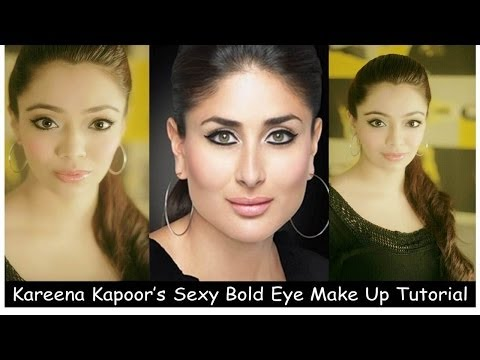 Kareena Kapoor's Sexy Bold Eye Make Up Tutorial (english) video