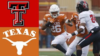Texas Tech vs Texas Highlights | NCAAF Week 14 | College Football Highlights