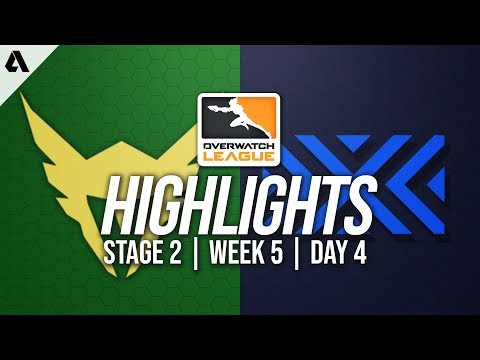 Los Angeles Valiant vs New York Excelsior | Overwatch League Highlights OWL Stage 2 Week 5 Day 4