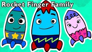 Rocket Finger Family | SPACE EXPLORER RHYME | Nursery Rhymes from Mother Goose Club!