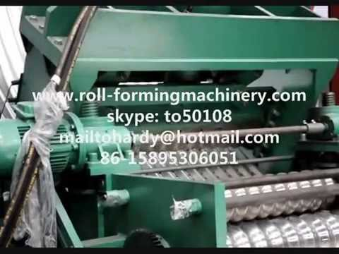 steel grain silo production line