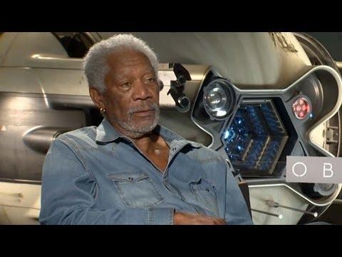 Morgan Freeman & Director Joseph Kosinski Talk 'Oblivion'