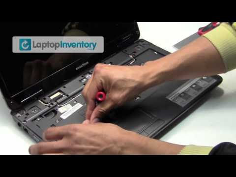 eMachines Laptop Repair Fix Disassembly Tutorial   Notebook Remove & Install Packard Bell