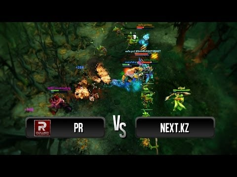 Exciting game by PR vs Next.kz @ Dota 2 Champions League