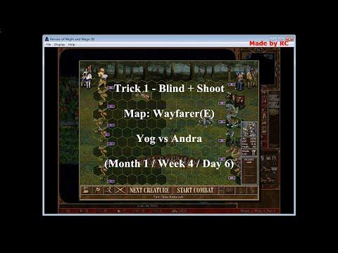 Heroes III (The Shadow of Death): Trick 1 - Blind + Shoot!