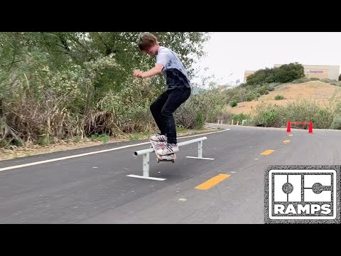 8ft Round Rail and Skate Cones - In the Streets