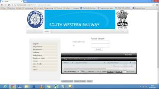 Project- Web Application for South Western Railway Final Year Project By VTU CSE