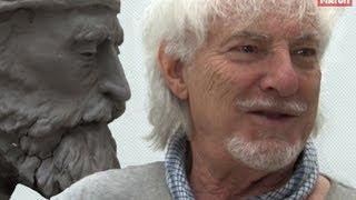 Hugues Aufray, passion sculpture