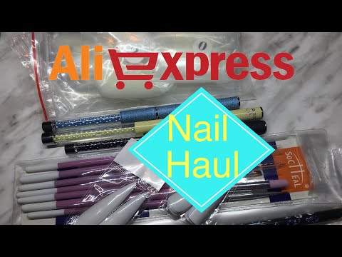 Aliexpress Gel Brush Haul & More