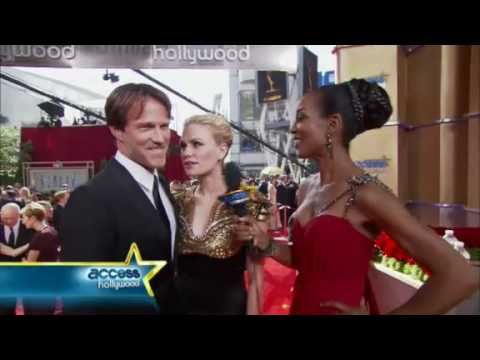 True Blood - Stephen Moyer & Anna Paquin - interviews from the Emmy Red Carpet.