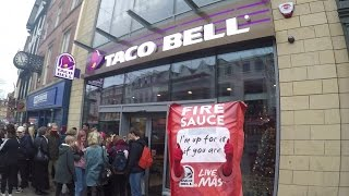 Taco Bell Nottingham Opening Day - MoPro 25