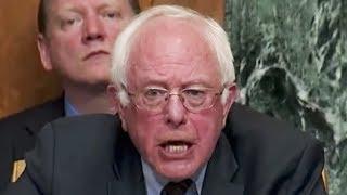 Bernie Sanders GOES OFF On Mick Mulvaney
