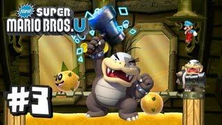 New Super Mario Bros U Wii U - Part 3 World 2-4, 2-5, 2-6, 2-Castle