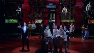 Show Clips: A BRONX TALE starring Nick Cordero, Bobby Conte Thornton and Richard Blake
