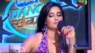 Argument between Shweta tiwari nd Saroj khan in dance sangram Fulll part