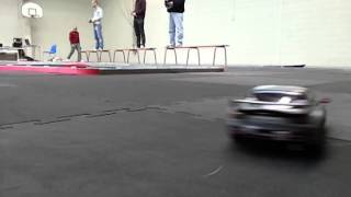 Mini Z AWD drift donut's Mazda Rx-7 fd SLOWMOTION