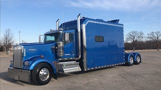 On the Spot with Kenworth W990