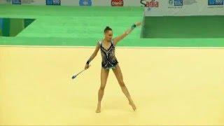 Rio de Janeiro - Test Event: Veronica Bertolini / Clavette (qualifiche)