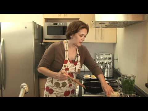 Souffle de espinaca - Spinach Souffle
