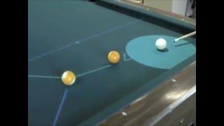 Thumb Deep Green, el robot experto en jugar billar