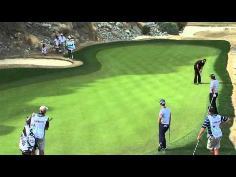Phil Mickelson's incredible par save on No. 17 at Humana