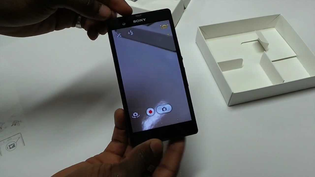 Sony Xperia Z UK Unbox...