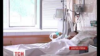 Дев'ятьох поранених бійців доправили за добу до Дніпропетровської обласної лікарні - (видео)