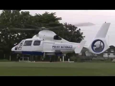 La police ivoirienne a son premier hélicoptere