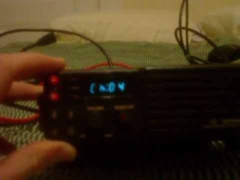 Maxon SM-4150 (GE Monogram) VHF Radio MURS TX and RX Test