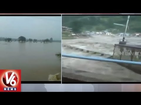 Himachal Pradesh: Water Level on Rise in Uhl River | V6 News