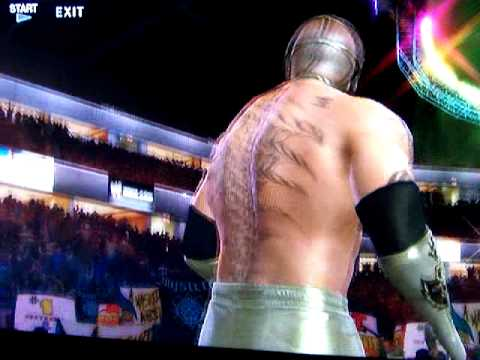 WWE SmackDown vs Raw 2010 (PS3): Rey Mysterio Custom Entrance...