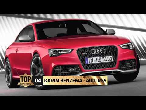 Les voitures de Karim Benzema