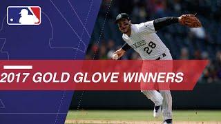 2017 Gold Glove Winners