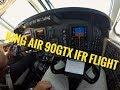 King Air 90GTx IFR Flight To Bryan, TX.