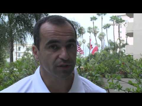 Roberto Martinez speaks to evertontv ahead of the Real Madrid game