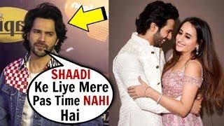 Varun Dhawan's SHOCKING Revelation About His MARRIAGE To Girlfriend Natasha Dalal